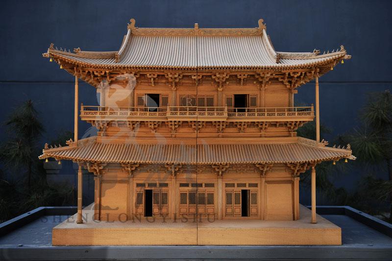 独乐寺观音阁模型