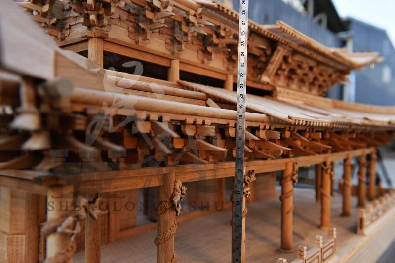晋祠圣母殿模型